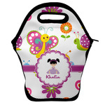 Butterflies Lunch Bag w/ Name or Text