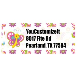 Butterflies Return Address Labels (Personalized)