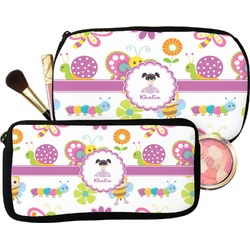 Butterflies Makeup / Cosmetic Bag (Personalized)
