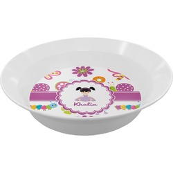 Butterflies Melamine Bowl (Personalized)