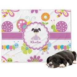 Butterflies Dog Blanket (Personalized)