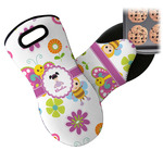 Butterflies Neoprene Oven Mitt (Personalized)