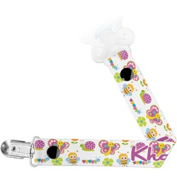 Butterflies Pacifier Clips (Personalized)