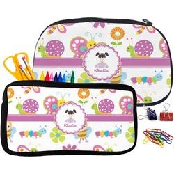 Butterflies Pencil / School Supplies Bag (Personalized)