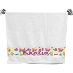 Butterflies Bath Towel (Personalized)