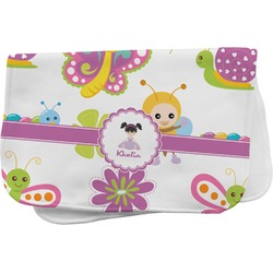 Butterflies Burp Cloth (Personalized)