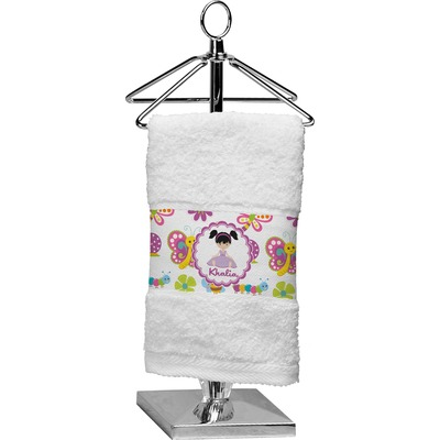 Butterflies Finger Tip Towel (Personalized)