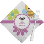 Butterflies Napkins (Set of 4) (Personalized)