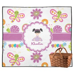 Butterflies Outdoor Picnic Blanket (Personalized)