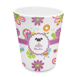 Butterflies Plastic Tumbler 6oz (Personalized)