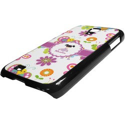 Butterflies Plastic Samsung Galaxy 4 Phone Case (Personalized)