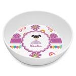 Butterflies Melamine Bowl 8oz (Personalized)