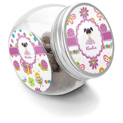 Butterflies Puppy Treat Jar (Personalized)