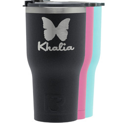 Butterflies RTIC Tumbler - 30 oz (Personalized)