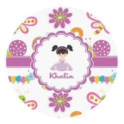 Butterflies Round Decal (Personalized)