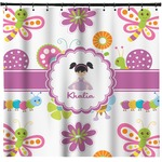 Butterflies Shower Curtain (Personalized)