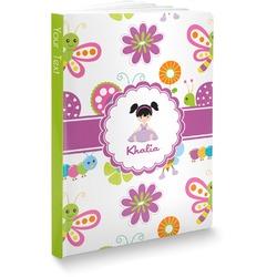 "Butterflies Softbound Notebook - 7.25"" x 10"" (Personalized)"