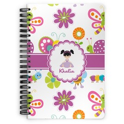 Butterflies Spiral Bound Notebook (Personalized)