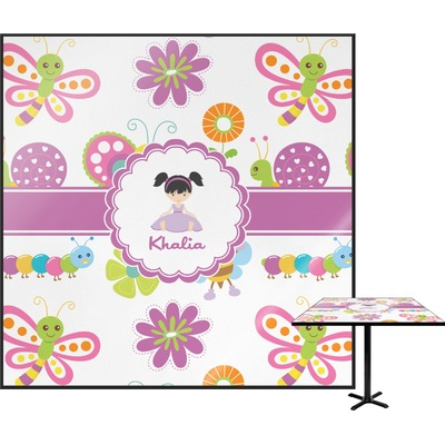 Butterflies Square Table Top - 24