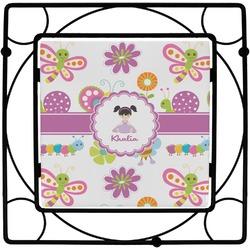 Butterflies Square Trivet (Personalized)