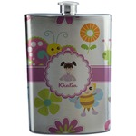 Butterflies Stainless Steel Flask (Personalized)