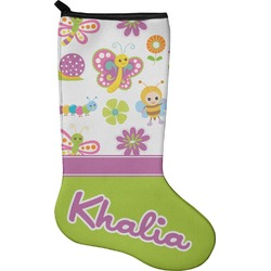 Butterflies Christmas Stocking - Neoprene (Personalized)