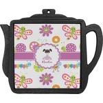 Butterflies Teapot Trivet (Personalized)