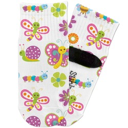 Butterflies Toddler Ankle Socks (Personalized)