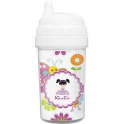 Butterflies Toddler Sippy Cup (Personalized)