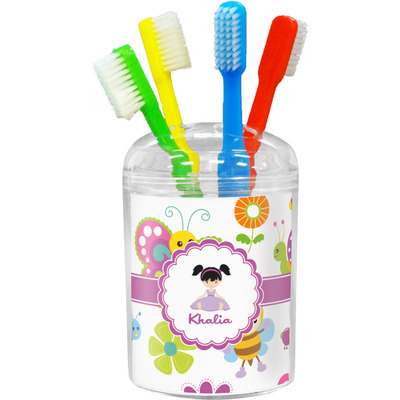 Butterflies Toothbrush Holder (Personalized)