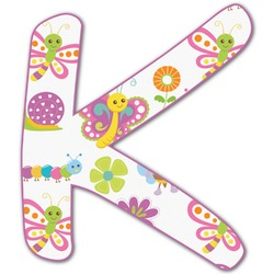 Butterflies Letter Decal - Custom Sized (Personalized)