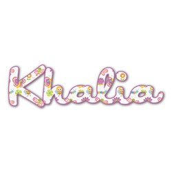 Butterflies Name/Text Decal - Custom Sized (Personalized)
