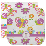Butterflies Facecloth / Wash Cloth (Personalized)