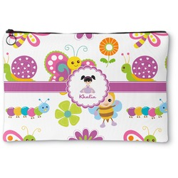 Butterflies Zipper Pouch (Personalized)