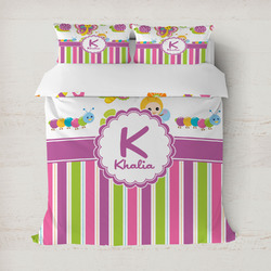 Butterflies & Stripes Duvet Covers (Personalized)
