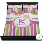 Butterflies & Stripes Duvet Covers (Personalized)