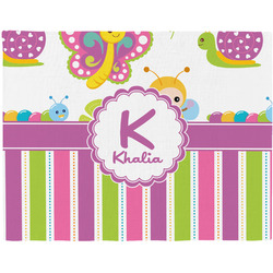 Butterflies & Stripes Placemat (Fabric) (Personalized)