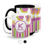 Butterflies & Stripes Coffee Mugs (Personalized)