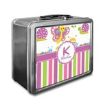 Butterflies & Stripes Lunch Box (Personalized)