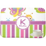 Butterflies & Stripes Dish Drying Mat (Personalized)