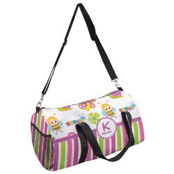 Butterflies & Stripes Duffel Bag - Multiple Sizes (Personalized)