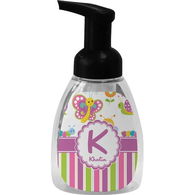 Butterflies & Stripes Foam Soap Dispenser (Personalized)