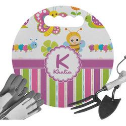 Butterflies & Stripes Gardening Knee Cushion (Personalized)