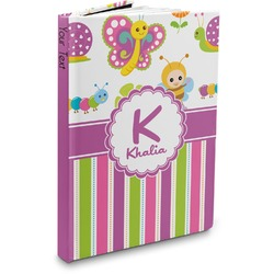 Butterflies & Stripes Hardbound Journal (Personalized)