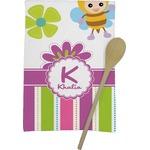 Butterflies & Stripes Kitchen Towel - Full Print (Personalized)