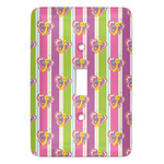 Butterflies & Stripes Light Switch Covers (Personalized)