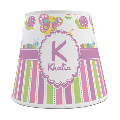 Butterflies & Stripes Empire Lamp Shade (Personalized)
