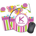 Butterflies & Stripes Mouse Pads (Personalized)