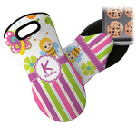 Butterflies & Stripes Neoprene Oven Mitt (Personalized)