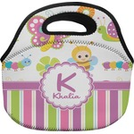 Butterflies & Stripes Lunch Bag (Personalized)